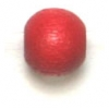 Wooden Bead Round 6mm Red